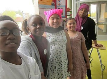 New Haven magnet school kids act globally