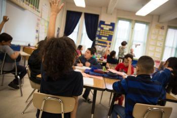 WNPR kids at school