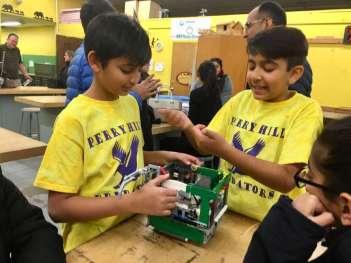 Shelton lego robots