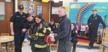 Danbury firefighters