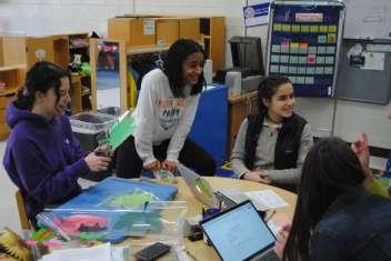 Danbury High students
