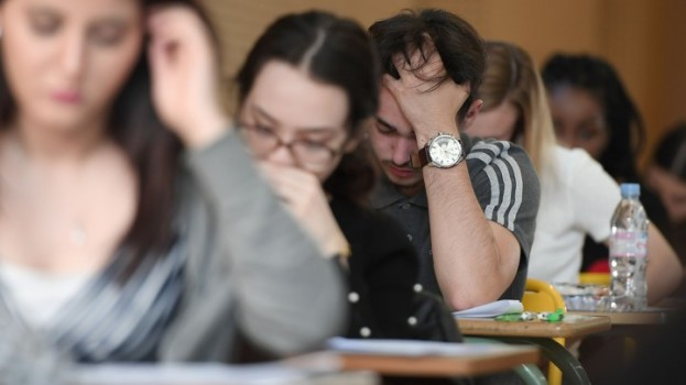 FRANCE-EDUCATION-EXAMINATION-BACCALAUREAT